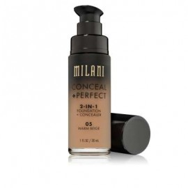 CONCEAL & PERFECT 2-IN-1 LIQUID MAKE UP 05 Warm Beige Light Medium with Warm Undertone